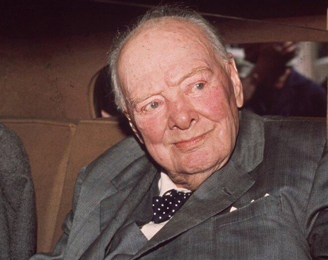 Sir Winston en 1964