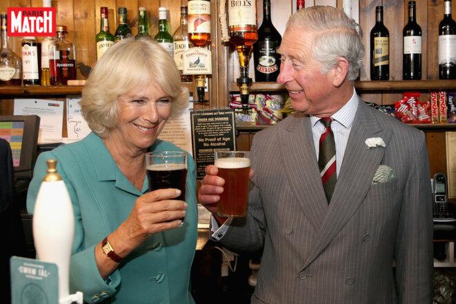 Prince Charles et Camilla Parker-Bowles en photos - À la santé du Pays de Galles © Paris Match