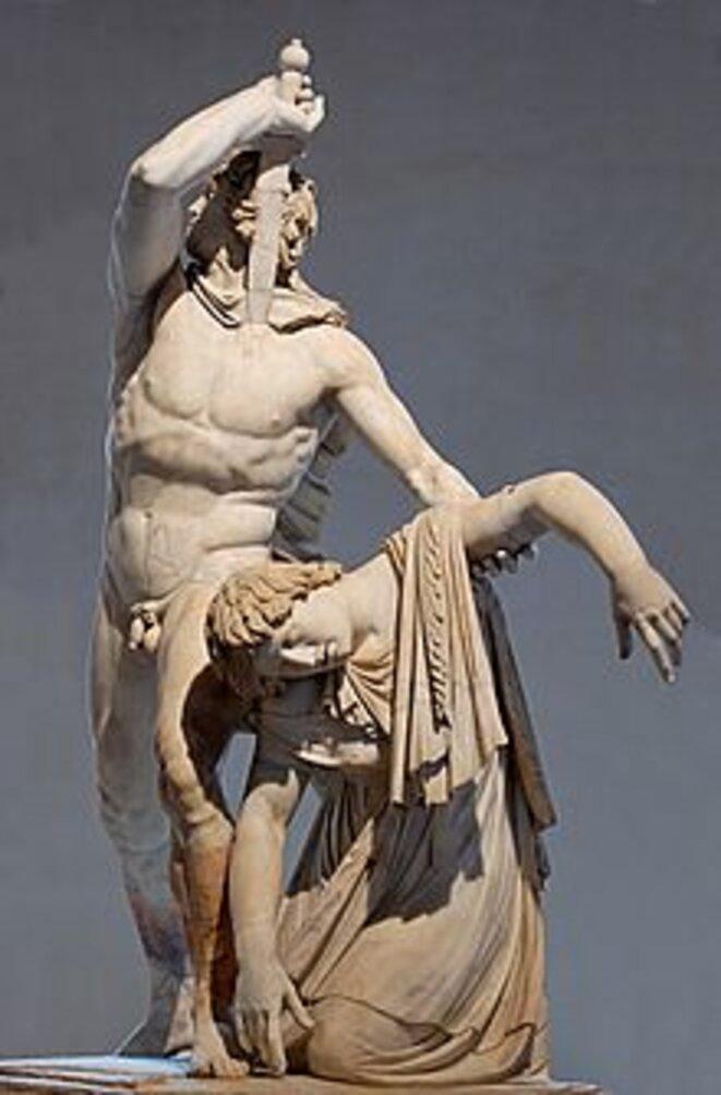 Le suicide du Galate, Ier siècle ap. JC, Rome,Le suicide du Galate, Marbre, Musei Capitolini, Roma
