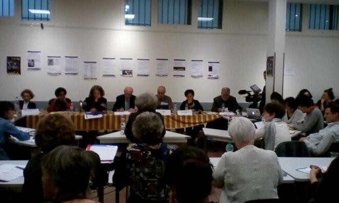 Le TPP en session le 4 janvier © Blanca Bermudo de Mateo