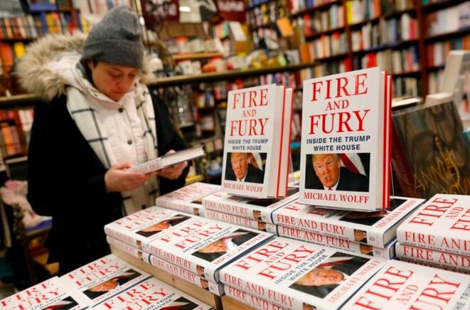 En una librería en New York, el 5 de enero de 2017. © Reuters