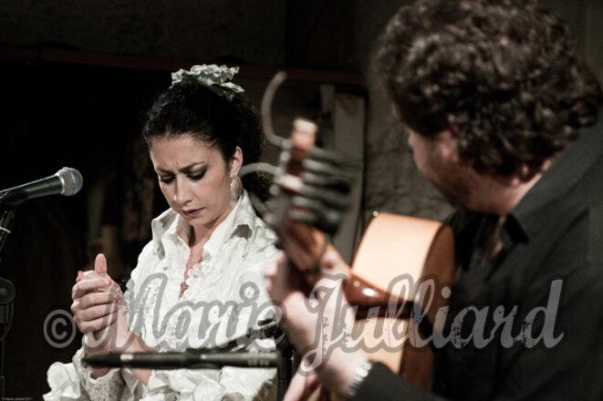 La Fabiola et Antonio Moya à Flamenco en France le 1er avril 2011 © Marie Julliard/Flamenco en France