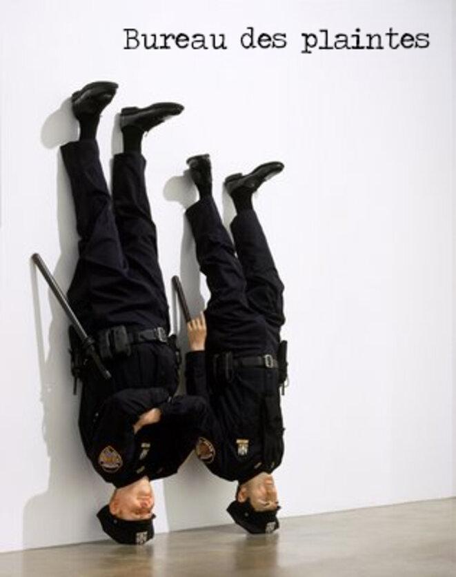 "Maurizio CATTELAN ""Frank & Jamie"", 2002"