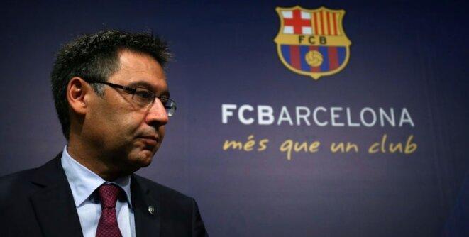 Josep Maria Bartomeu, président du FC Barcelone © Reuters