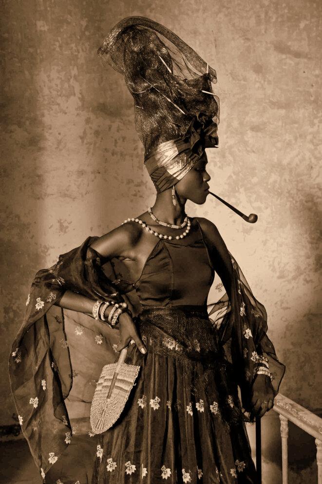 femme signare © archives ile de Gorée Senegal