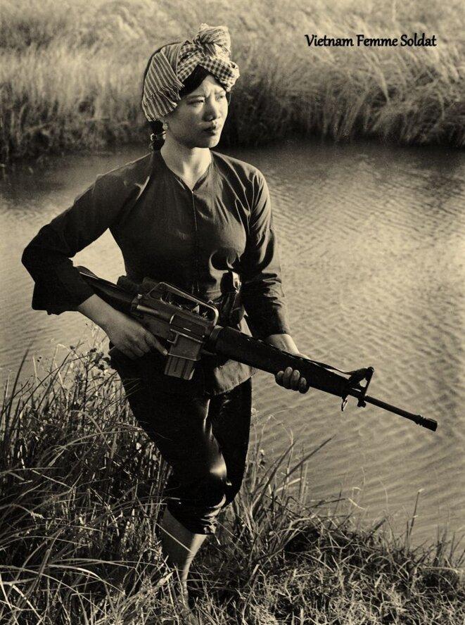 Vietnam femme soldat © Avi