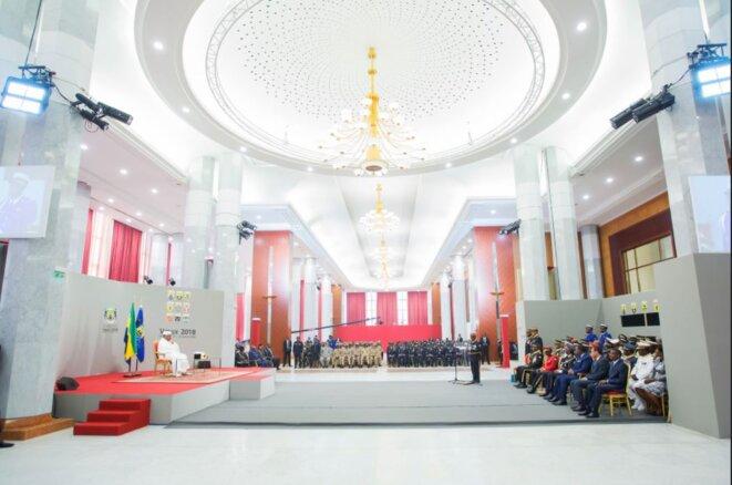 Vœux-2018-des-Forces-de-défense-et-de-sécurité-Gabon-