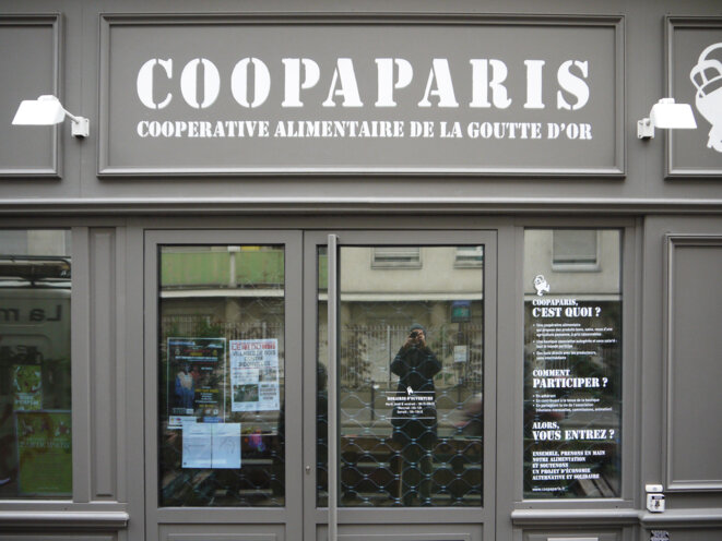 Coopaparis dans le 18e à PAris © fair