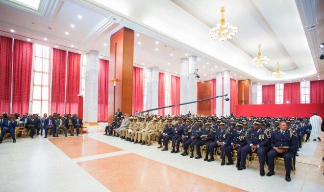 Vue-d'ensemble-Gabon-Nouvel-An-2018-Ali-Bongo-Ondimba-Vœux-des-Forces-de-défense-et-de-sécurité