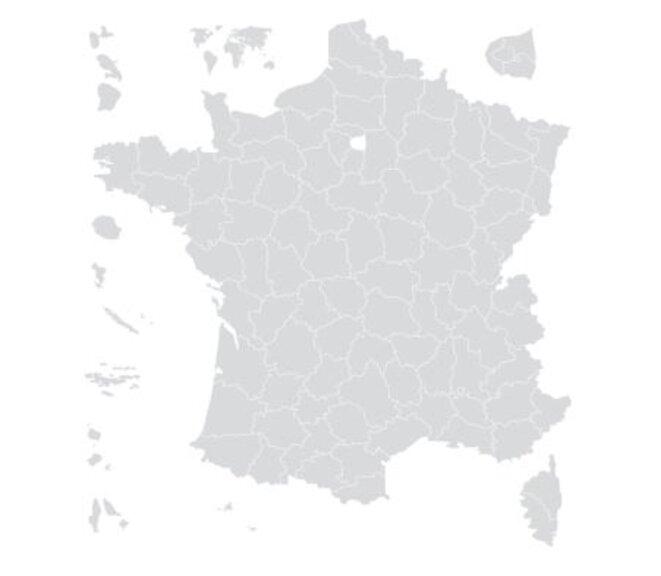 Carte des départements et collectivités des Outre-mer © Assemblée Nationale