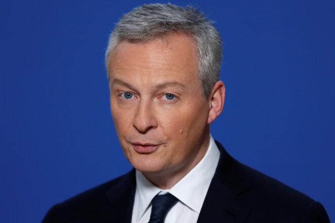 Bruno Le Maire, ministre de l'économie et des finances. © Reuters