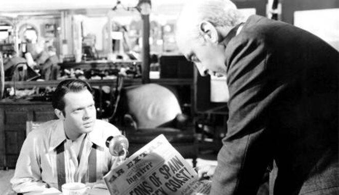 Fotograma de la película 'Ciudadano Kane' (1941). © Alexander Kahle / RKO Radio Pictures