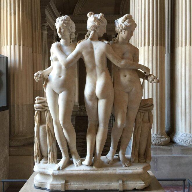 Les 3 grâces au Louvre © ET