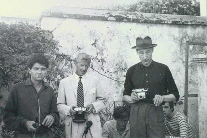 Paul Bowles et Williams Burroughs