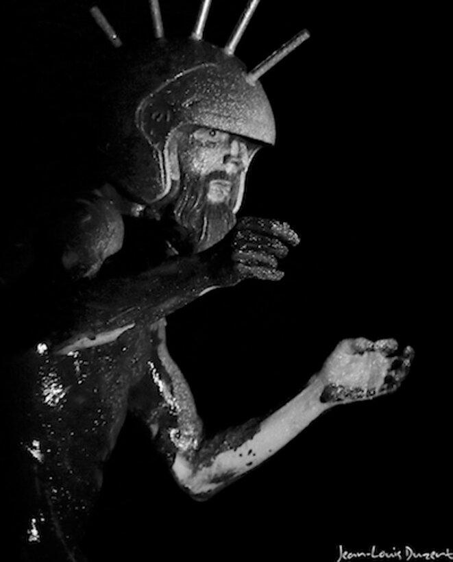 Andrés Marín tel le christ de Burgos après la traversée des épreuves © Jean-Louis Duzert