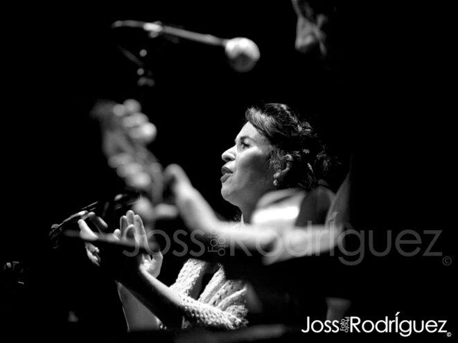 Clara Tudela alias La Pasionaria © Joss Rodriguez