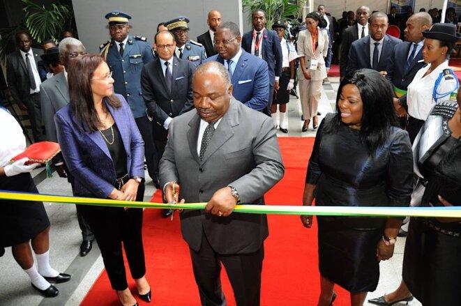 Gabon-Economie-  inauguration de l'ANPI par le président Ali Bongo Ondimba