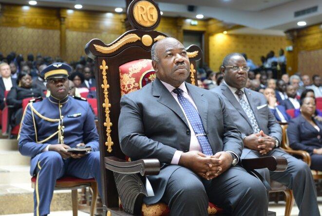Gabon/Cour constitutionnelle - Audience solennelle de rentrée 2018- S.E.M Ali Bongo Ondimba©-DCP-ID