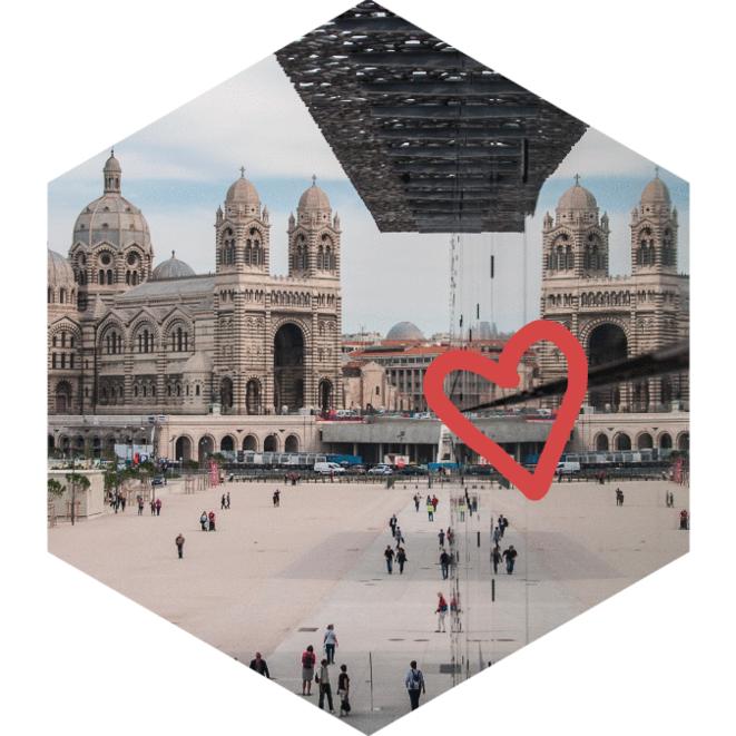 CaP.CULT - Balades urbaines / février et septembre 2018 à Marseille © Affiche de l'événement.