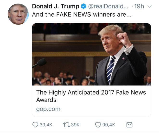 CNN grand gagnant des