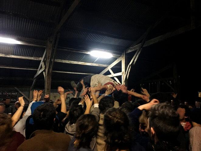 Jeudi soir, lors de la fête donnée à la Vache Rit. © CG