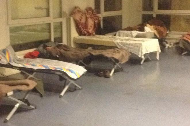 Les lits de l'ancien lycée Poncelet