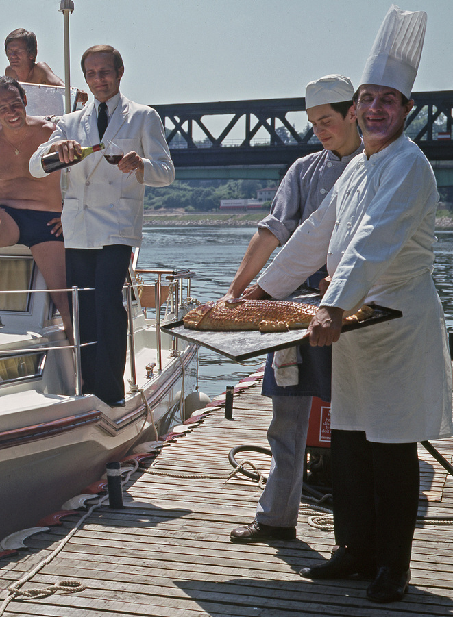 Paul Bocuse - juin 1973 © Gilles Walusinski