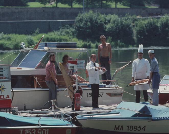 Paul Bocuse et ses amis - juin 1973 © Gilles Walusinski