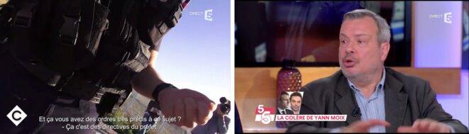 """France 5 """"C à vous"""" le 22 janvier [capture d'écran YF]"""