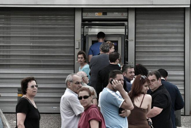 Athènes, lundi 29 juin 2015