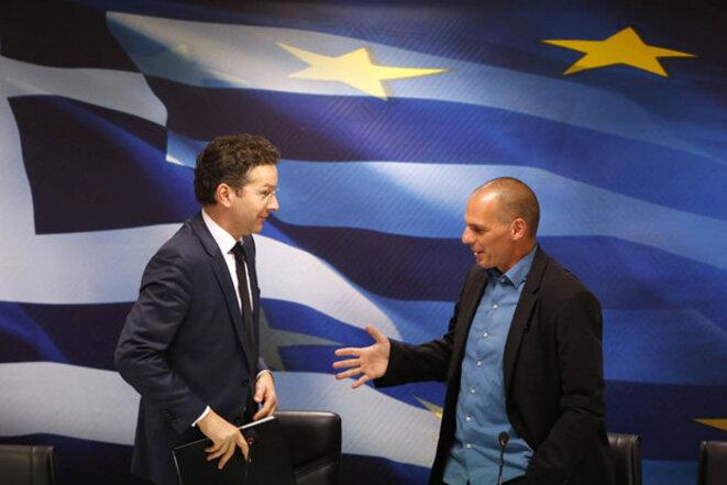 Dijsselbloem et Varoufakis