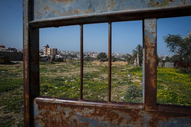 """Gaza est trop souvent décrite comme une """"prison à ciel ouvert"""". Il s'agit plus d'un exercice de punition collective massive © Thomas Cantaloube"""