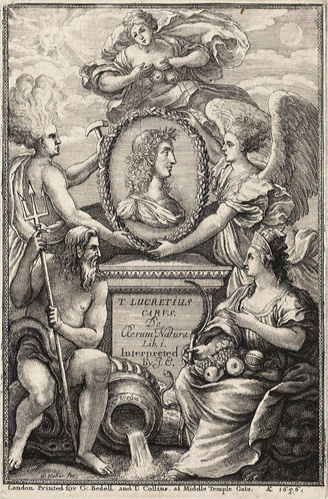 """Page d'illustration du """"De rerum natura"""""""