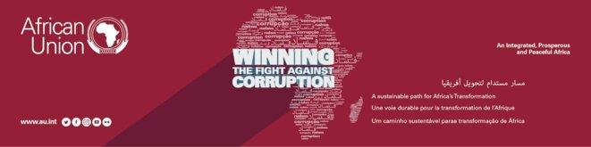 0e sommet de l'union Africaine-28 janvier  2018 -banner-2018_theme_: « Vaincre la corruption : une option durable de transformation de l'Afrique »