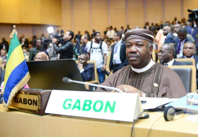 30e sommet de l'union Africaine-28 janvier 2018-Ali Bongo Ondimba président du Gabon
