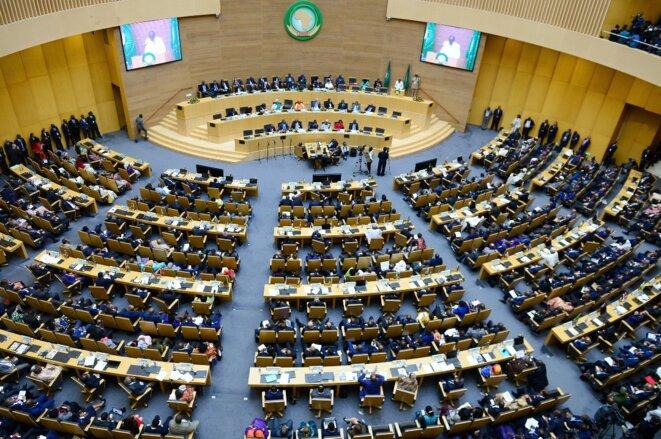30e sommet de l'union Africaine-28 janvier 2018-Vue de salle