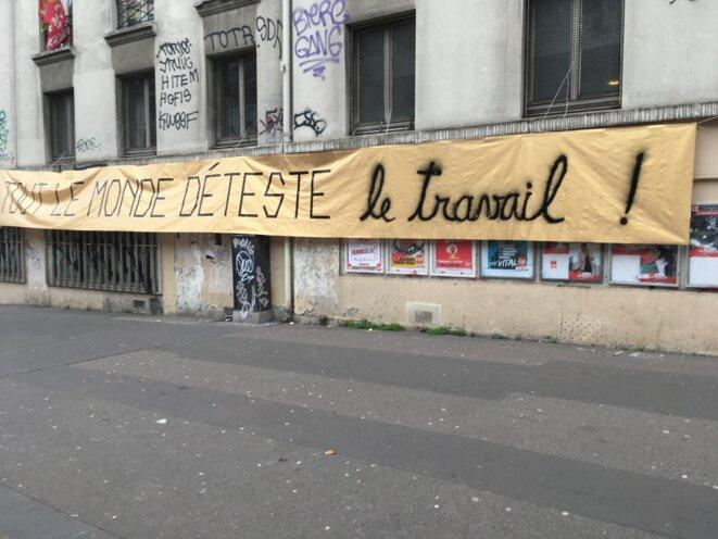 Boulevard du Temple à Paris