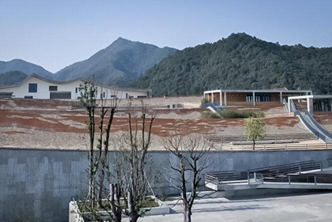 Wang Shu / Amateur Architecture Studio, Musée de Fuyang