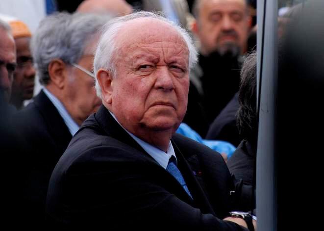 Jean-Claude Gaudin, maire de Marseille depuis 1995. © Rémi Leroux