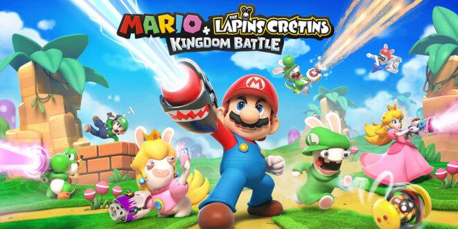 « Mario et les lapins crétins », une des dernières productions d'Ubisoft