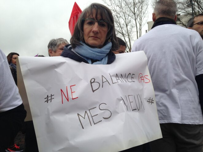 Patricia Calmettes, mardi 30 janvier à Toulouse © ES.