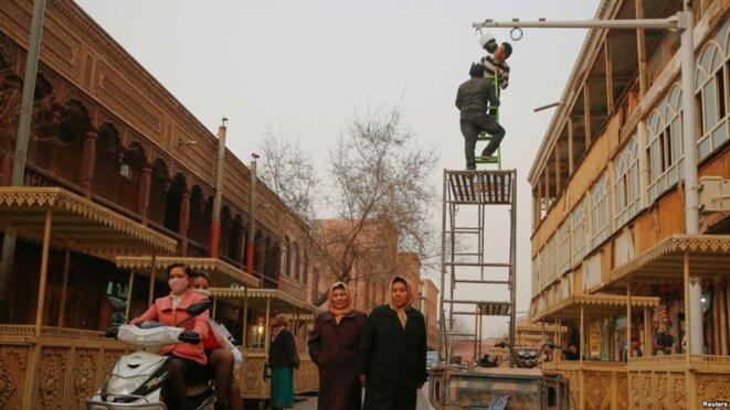 Répression extraordinaire de la minorité ouïghoure