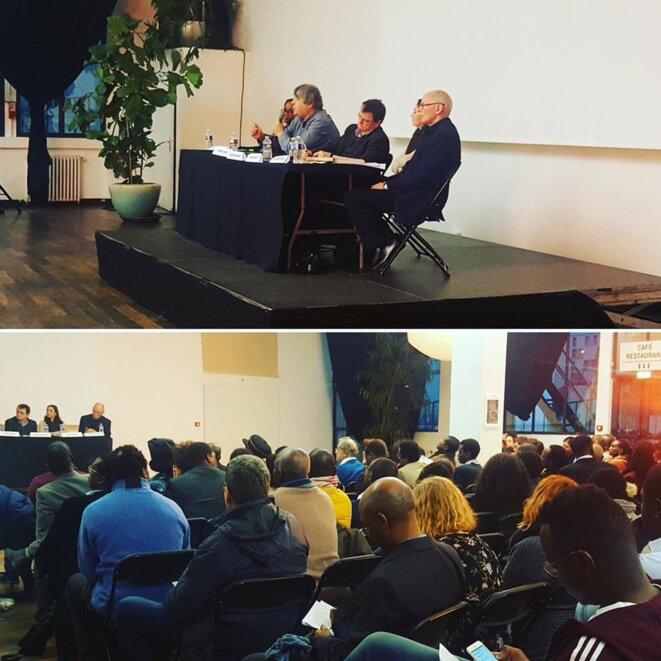 Conférence sur la crise au Burundi organisée par SOS Racisme © Thierry Paul Valette - Égalité Nationale.