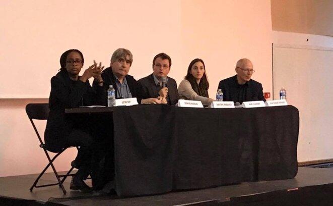 Seconde table ronde © thierry Paul Valette - Égalité Nationale.
