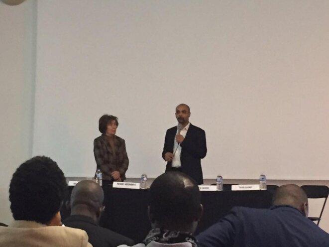 Dominique SOpo et Beate Klarsfeld ouvrent les débats © thierry Paul Valette - Égalité Nationale.