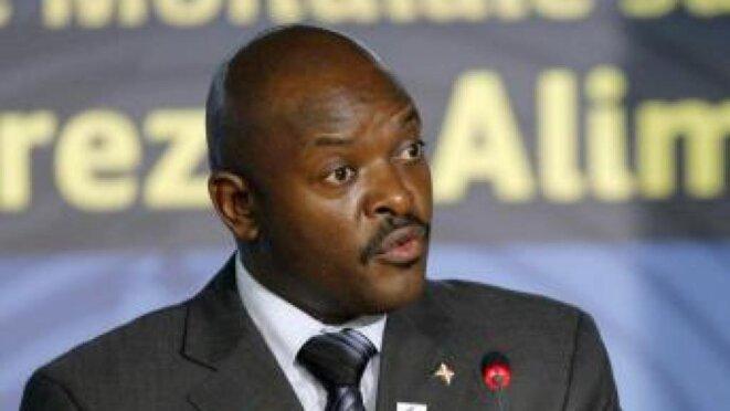 Pierre Nkurunziza, président du Burundi © thierry Paul Valette - Égalité Nationale.