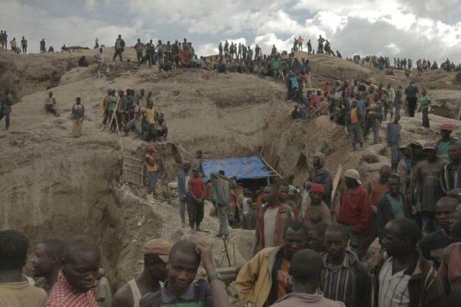 Mine de Coltan en République Démocratique du Congo