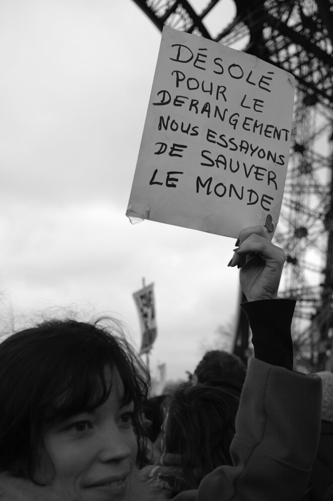 © Sandrine Roudaut - Marche pour le climat Paris 2015
