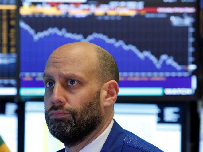 Trader à Wall Street, le 5 février 2018. © Reuters