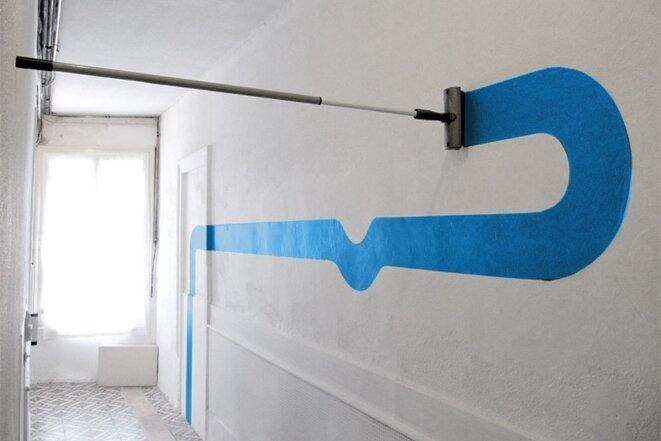 Couloir (2012), Espace o25rjj © Bruno Mercet